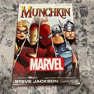 SOLD Munchkin Marvel Game & Cosmic Chaos